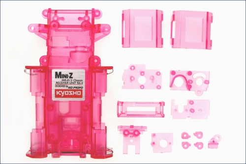 Chassis MR-015, purpur-transparent Kyosho MZF-151-CP