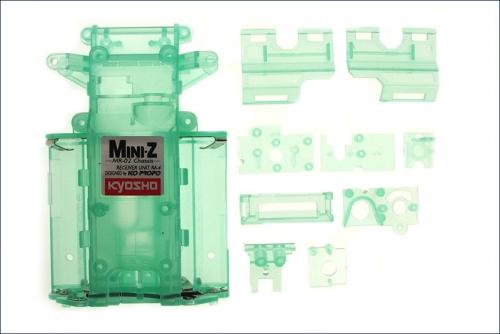 Chassis Mini-Z MR-02, grün-transparent Kyosho MZF-201CG