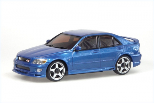 Karosse 1:24 MR-015 Toyota Altezza blau Kyosho MZG-09-MB
