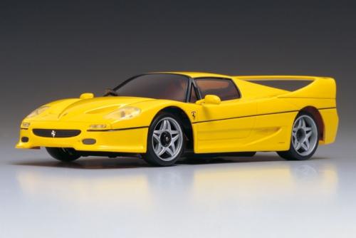 Karosse 1:24 MR-02 Ferrari F-50, gelb Kyosho MZG-304-Y
