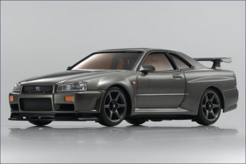 Karosse 1:24 AWD Skyline GT-R R32, jade Kyosho MZG-401-MJ