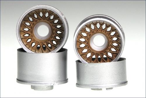 Felge 1:24,Classic,bronze 8,5/11mm (4) Kyosho MZH-100C