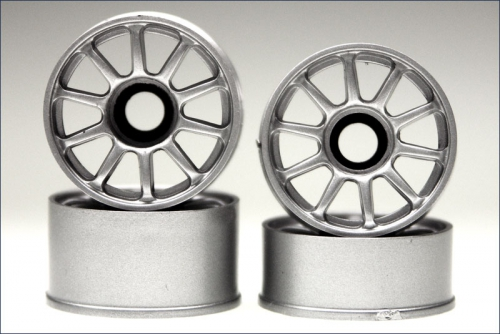 Felge 1:24,10-Speichen,silber 8,5/11mm ( Kyosho MZH-202S