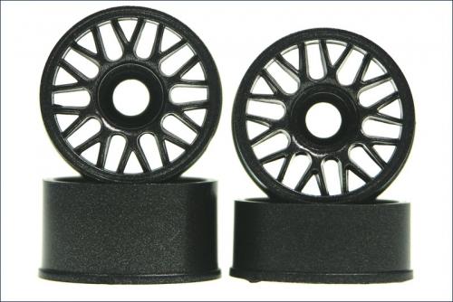 Felge 1:24,BBS,anthrazit 8,5/11mm (4) Kyosho MZH-204GM