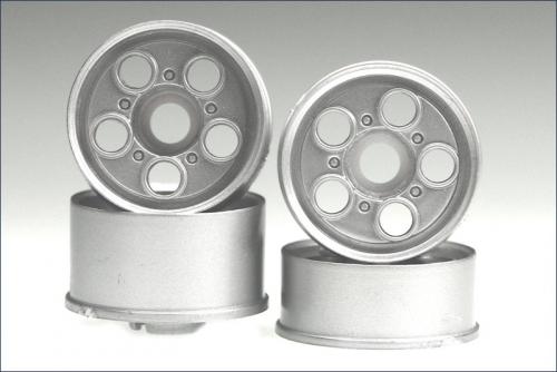 Felge 1:24,Loch,silber 8,5/11mm (4) Kyosho MZH-205