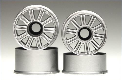Felge 1:24,Speichen,silber 8,5/11mm (4) Kyosho MZH-212