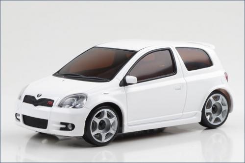 Karosse 1:24 MR-03 Toyota Vits RS weiss Kyosho MZP-13-W