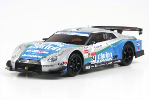 Karosse 1:24 MR-02 WOODONE ADVAN GT-R 08 Kyosho MZP-214-WA