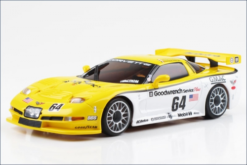 Karosse 1:24 MR-03 Corvette C5-R 2000 LM Kyosho MZP-25-WY