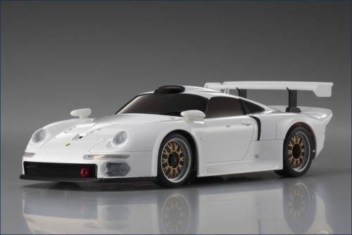 Karosse 1:24 MR-03 Porsche 911 GT1,weiss Kyosho MZP-330-W