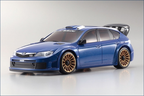 Karosse 1:24 MA-010 Impreza WRC2008 blau Kyosho MZP-414-MB