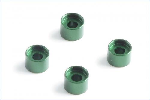 Daempferhalterungsbuchsen 3.5mm, gruen(4 Kyosho MZW-418-35