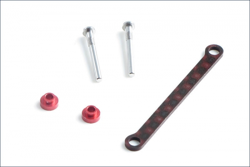 Querlenkerstifthalterung breit, rot Kyosho MZW-420BR