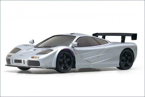 Karosse 1:24 MR-02 McLaren F1, silber Kyosho MZX-203-S
