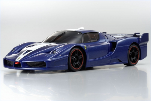Karosse 1:24 MR-02 Ferrari FXX, blau-met Kyosho MZX-211-MB
