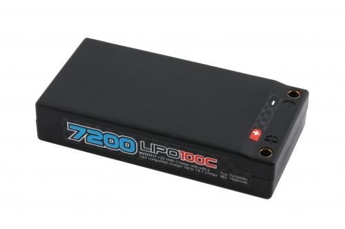 nVision Factory Pro Lipo 7200 100C 3.7V Kyosho NVO1117