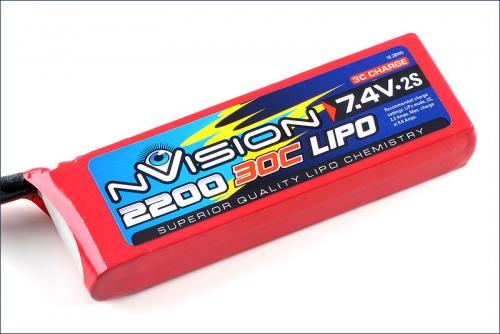 nVision LiPo 2s 7,4V 2200 20C Kyosho NVO1803