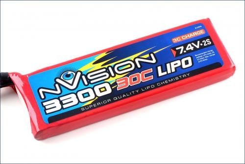 nVision LiPo 2s 7,4V 3300 20C Kyosho NVO1805