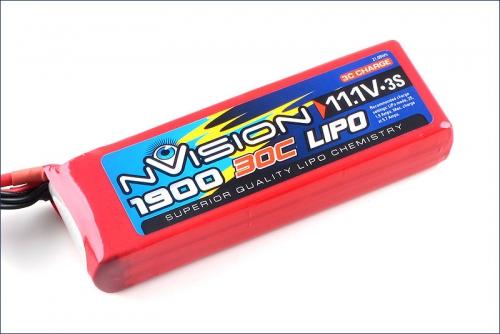 nVision LiPo 3s 11,1V 1900 20C Kyosho NVO1809