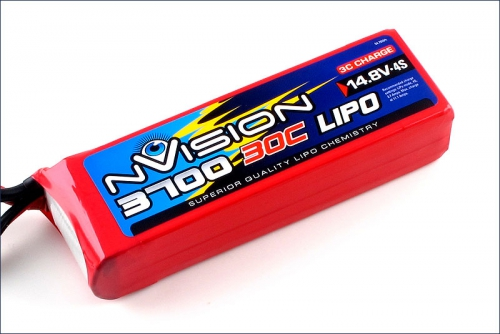 nVision LiPo 4s 14,8V 3700 20C Kyosho NVO1815