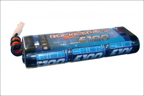 Akku Rocket Stick Pack 7,2V-5100mAh Team Orion ORI10335
