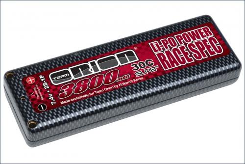 Akku CARBON Edition LiPo 3800 7.4V Team Orion ORI14009