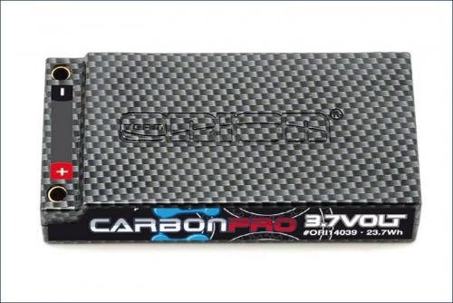 Carbon Pro 6400mAh 90C 3.7V Tubes Team Orion ORI14039