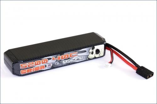 Carbon XX LiPo 5200 7.4 V 40C Team Orion ORI14142