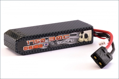 Carbon XX LiPo LiPo 1750 7.4 V 30C Team Orion ORI14146