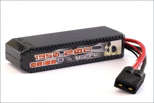Carbon XX LiPo 1950 7.4 V 20C Team Orion ORI14147