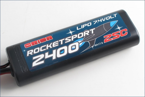 Rocket Sport 2400 LiPo 7,4V Team Orion ORI14169