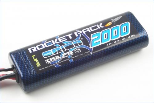 Rocket Pack LiFe 2000 6.6 V 40C Team Orion ORI15100