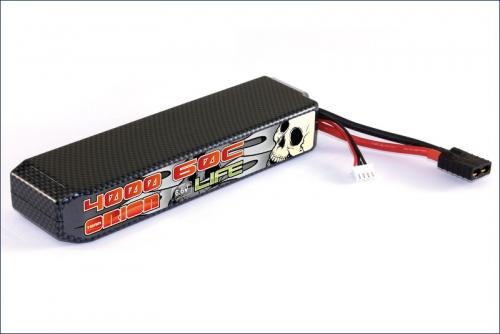 Carbon XX LiFe 4000 6.6 V 60C Team Orion ORI15118