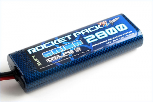 Rocket TS Stick Pack LiFe 2800 IBS Deans Team Orion ORI15129