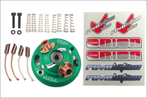 Endbell Set  Gruen, Conversion Set zum V Team Orion ORI41502