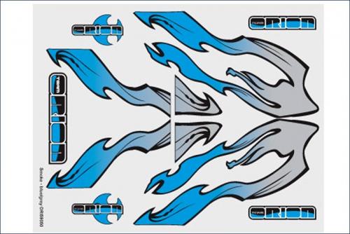 Grafiksset Innenraum  Rauch/Blau/Grau Team Orion ORI59050