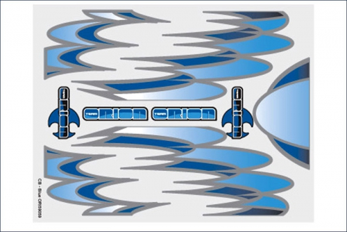 Grafiksset Innenraum  CB Blau Team Orion ORI59059