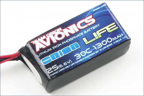 Avionics Life RX Pack 1400 30C 6.6V Team Orion ORI60503