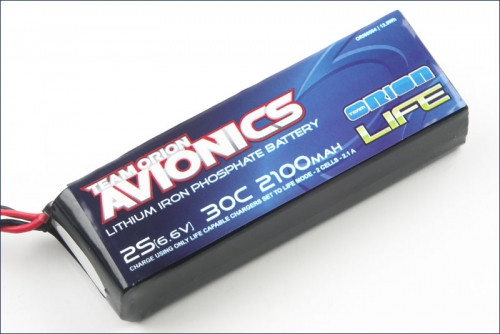 Avionics Life RX Pack 2100 30C 6.6V Team Orion ORI60504