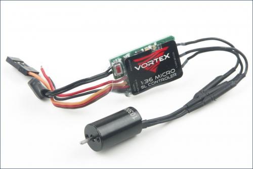 Vortex Combo 1/36 10300KV mit 5A Regler Team Orion ORI66002