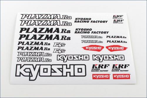 Dekorbogen PLAZMA Ra Kyosho PZ045