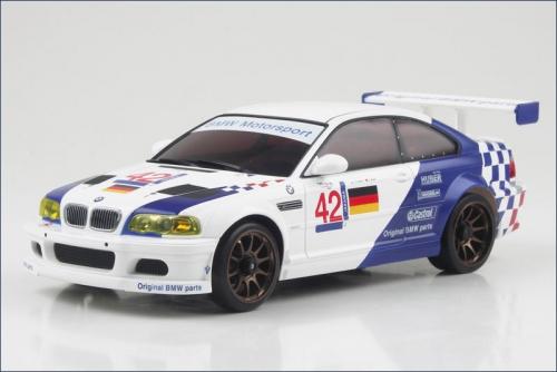 Karosse BMW M3 GTR ALMS 2001 No.42 Kyosho R246-1113