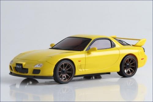 Karosse Mazda RX-7 FD, gelb Kyosho R246-1141