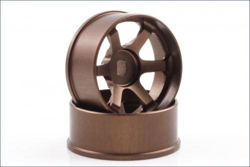 Felgen Ray´s TE37 Off-set 3.5mm, bronze Kyosho R246-1451