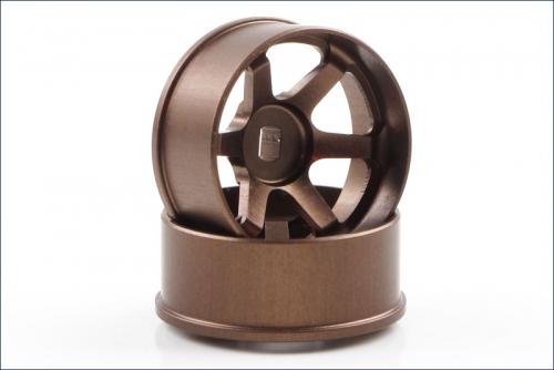 Felgen Ray´s TE37 Off-set 4.5mm, bronze Kyosho R246-1453