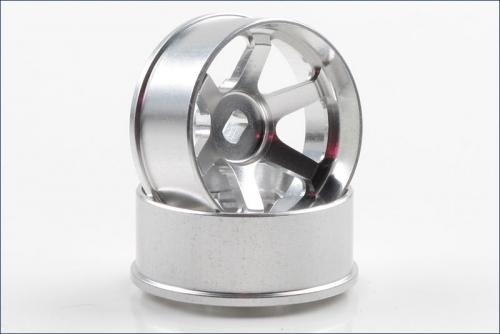 Felgen Ray´s TE37 Off-set 4.5mm, silber Kyosho R246-1454