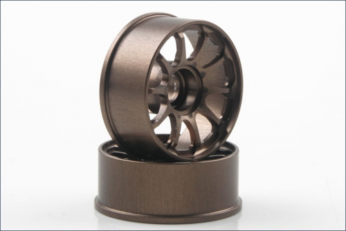 Felgen CE28N 0.0 mm Off-Set, bronze Kyosho R246-1501