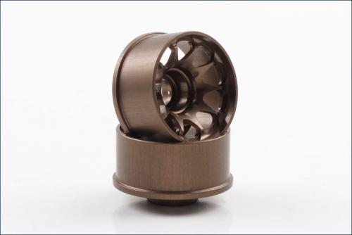 Felgen CE28N N-17mm Off-Set 2.5mm, bronz Kyosho R246-1781