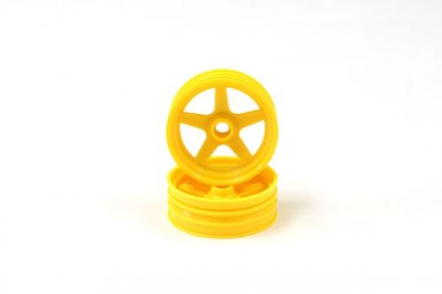 Felge vorn, gelb (2) Kyosho SCH-03YKY 1-SCH-03YKY