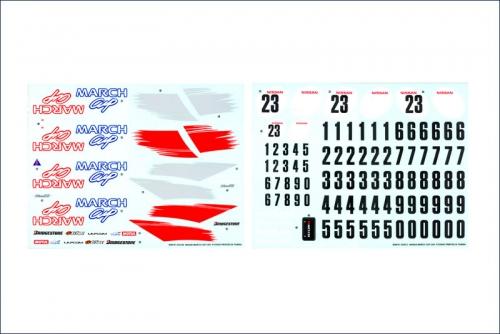 Dekorbogen March Cup Kyosho SDB-101-01